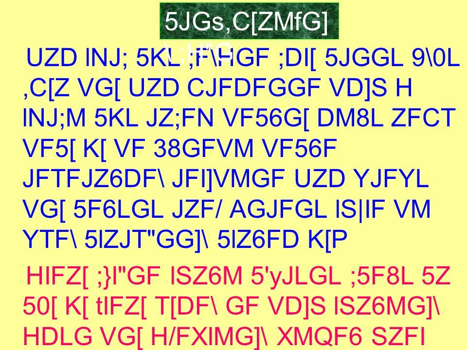 5JGs,C[ZMfG]\ ;H G